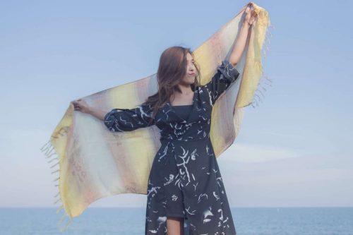 buy thai gold scarf online