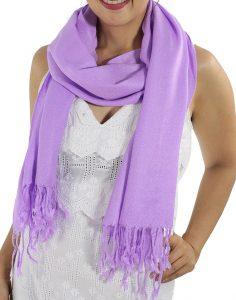lavender pashminas