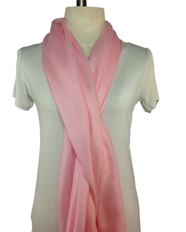 pink pashmina