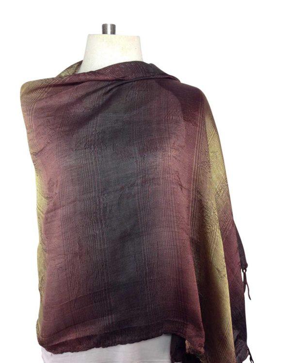 thai brown scarf
