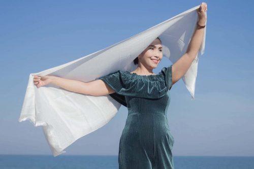 buy white shawl online